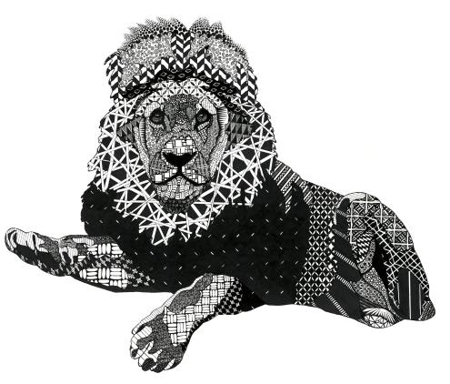 Lion1DarkLight